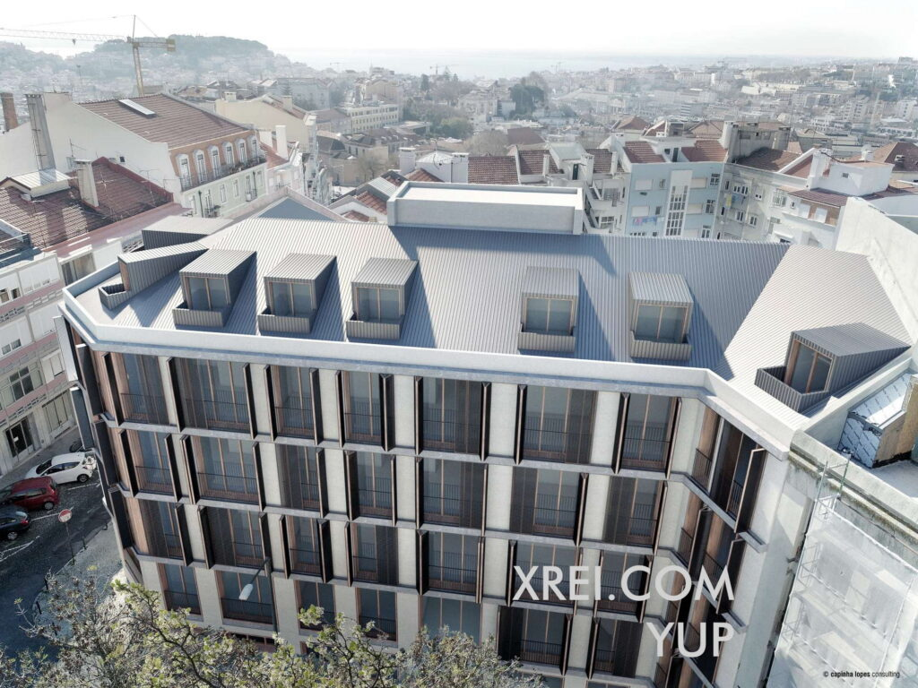 YUP, nuevos apartamentos en venta en edificio residencial ubicado en Santo António • Lisboa, Portugal