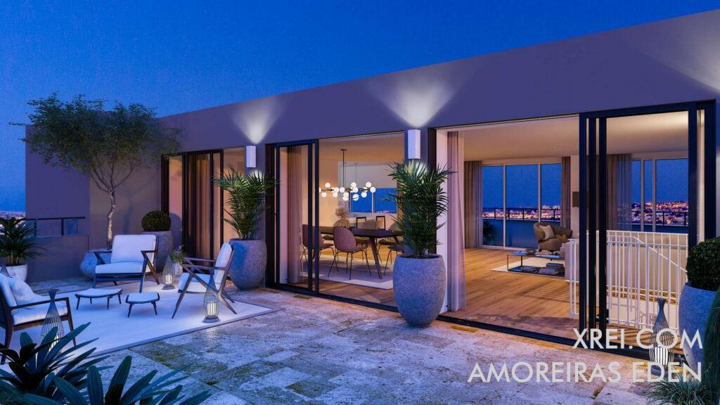 Amoreiras Eden, nuevos apartamentos en venta en edificio residencial ubicado en Amoreiras • Lisboa, Portugal