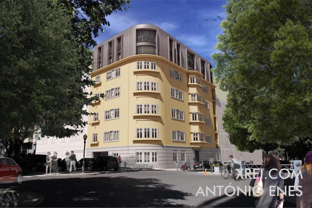 António Enes, nuevos apartamentos en venta en edificio residencial ubicado en Avenidas Novas • Lisboa, Portugal