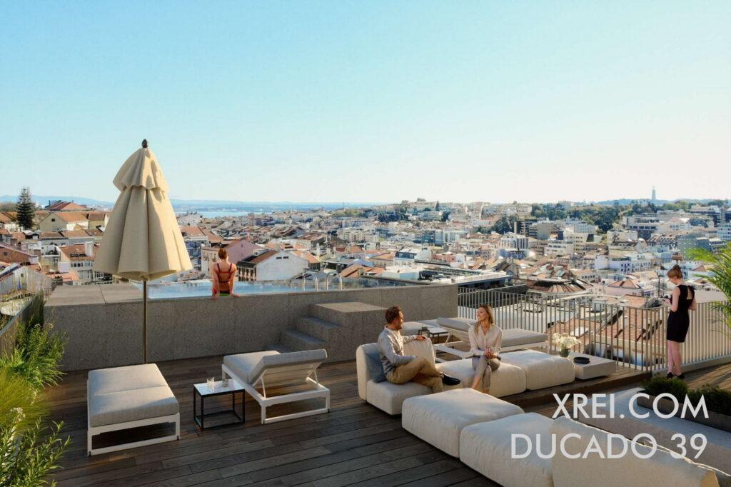 Ducado 39, nuevos apartamentos en venta en un edificio residencial ubicado en la Avenida Duque de Loulé, Lisboa, Portugal