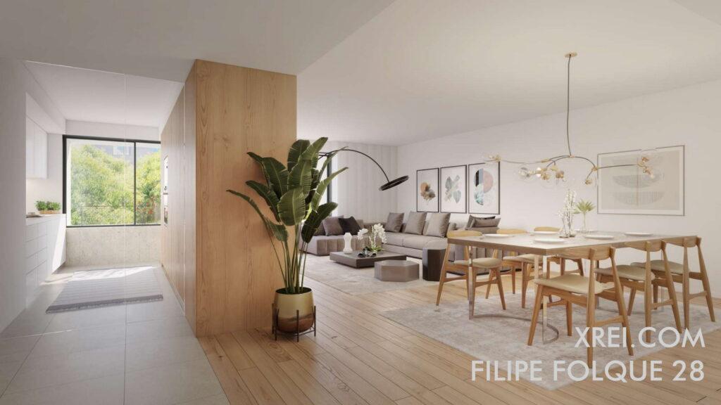 Filipe Folque 28, nuevos apartamentos en venta en edificio residencial ubicado en Saldanha • Lisboa, Portugal