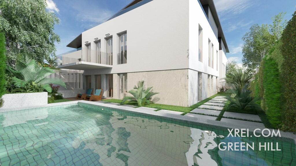 Green Hill, nuevos apartamentos a la venta en un edificio residencial ubicado en Estoril • Cascais, Portugal