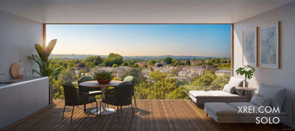 SOLO, apartamentos nuevos en venta en edificio residencial con piscina ubicado en Cacilhas de Oeiras • Oeiras, Portugal