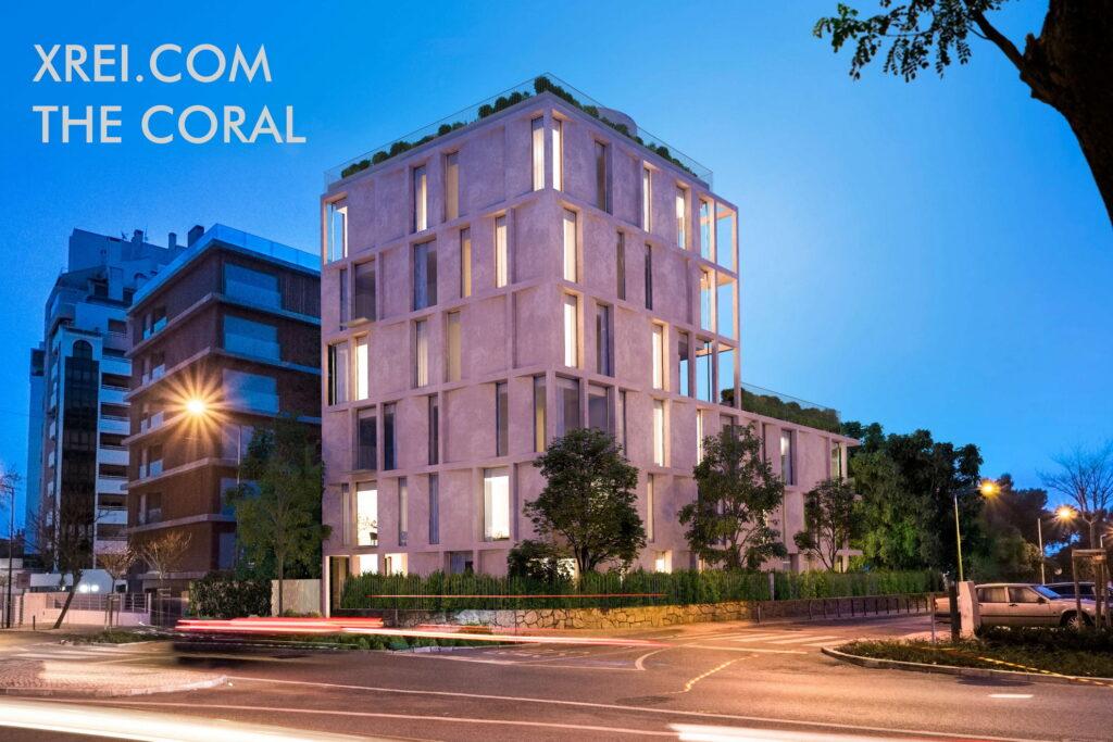 The Coral, nuevos apartamentos a la venta en un edificio residencial ubicado en Centro Cascais • Cascais, Portugal