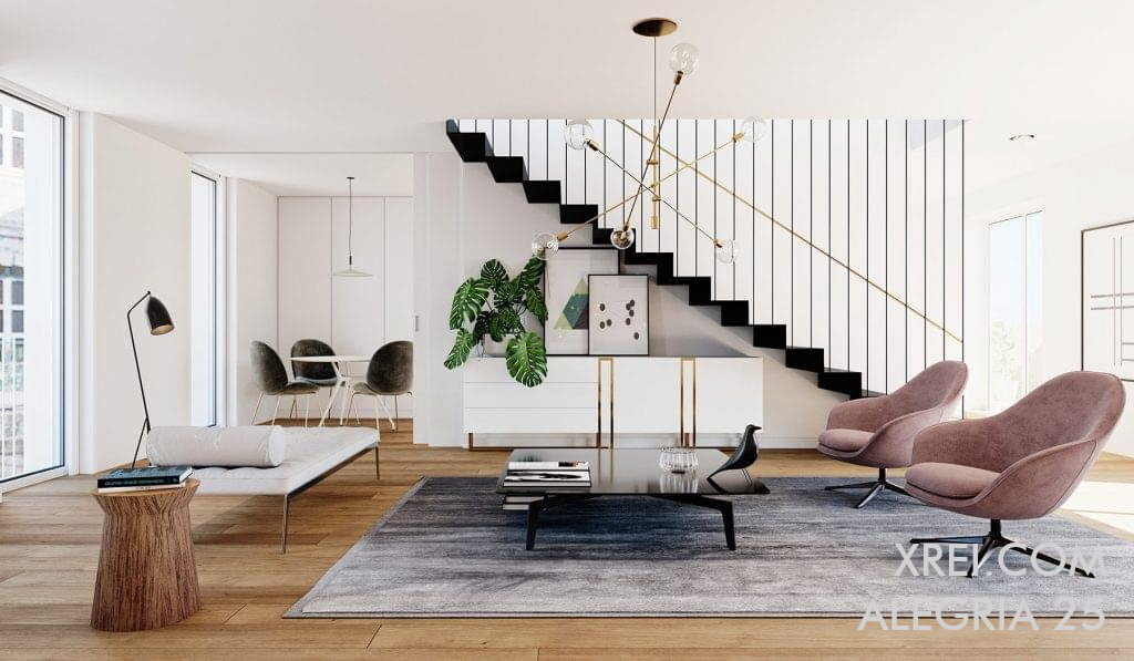 Alegria 25, nuevos apartamentos en venta en un edificio residencial ubicado en Praça da Alegria • Lisboa, Portugal