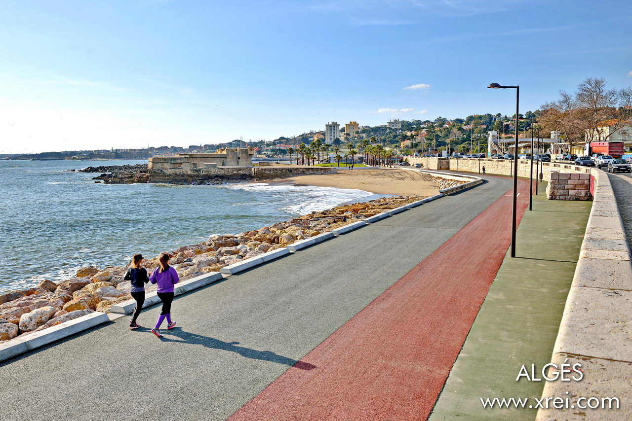 Algés is a coastal parish in Lisbon, located on the southwest coast of the city, in front of the Tagus River.