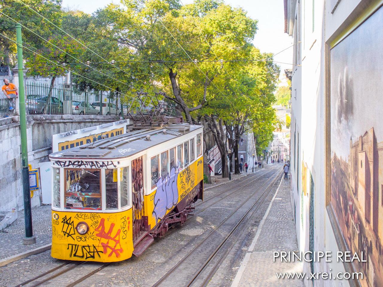 Elevador da Glória é um bonde que faz o percurso inclinado entre a Avenida da Liberdade e a entrada do Princípe Real e Bairro Alto. É um dos vários elevadores tradicionais ainda em atividade na cidade de Lisboa