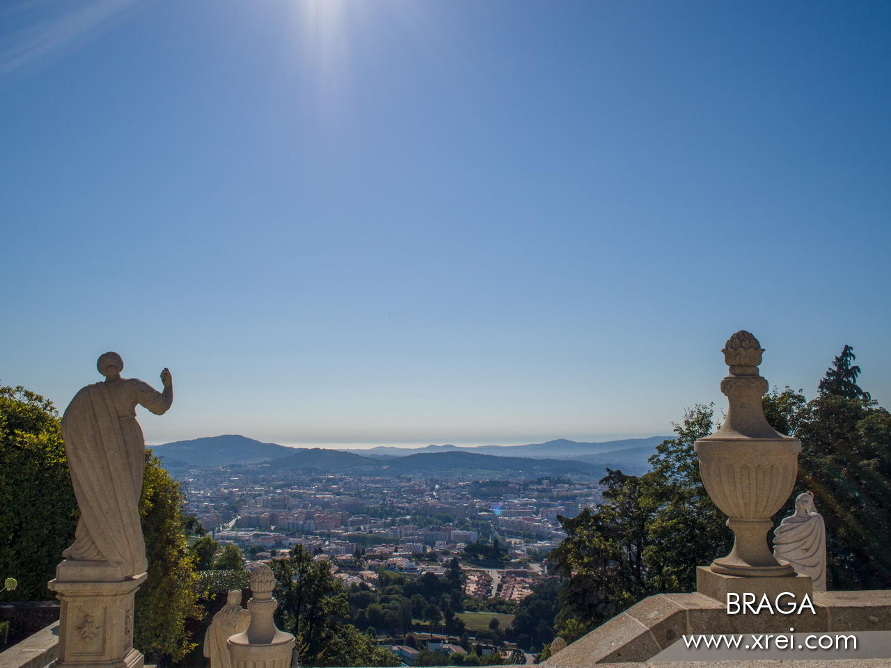 Braga, one of the oldest cities in Europe founded in 16 BC known as the Portuguese Rome