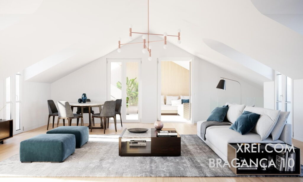 Bragança 10, new apartments for sale in a residential building located in Chiado • Lisbon, Portugal