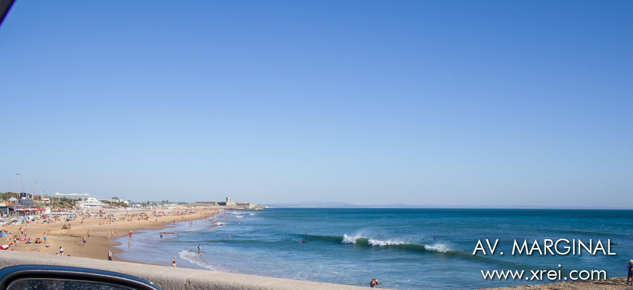 Praia de Carcavelos is the most visited beach on Avenida Marginal, Estoril line due to the great sand, infrastructure and location. Carcavelos beach is also a place of excellent waves for surfing and bodyboarding during autumn, winter and spring.