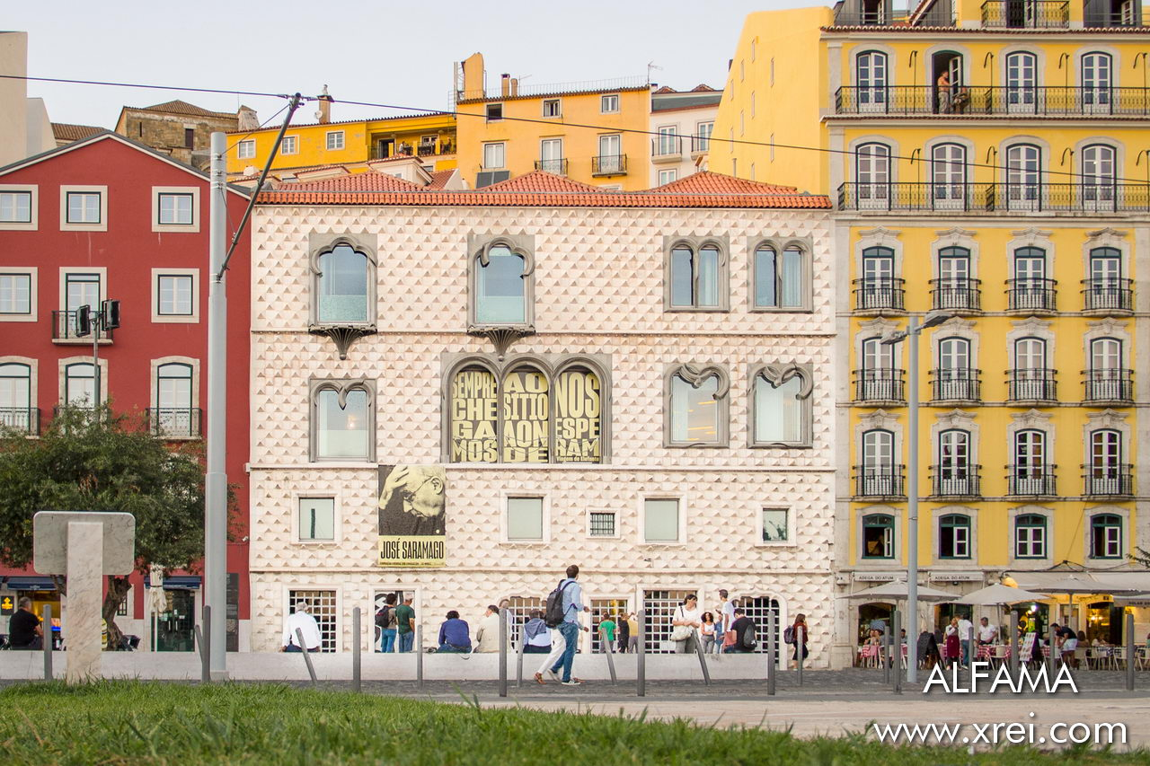 Casa dos Bicos, center of the Lisbon Museum and site of the José Saramago Foundation - Nobel Prize for Literature