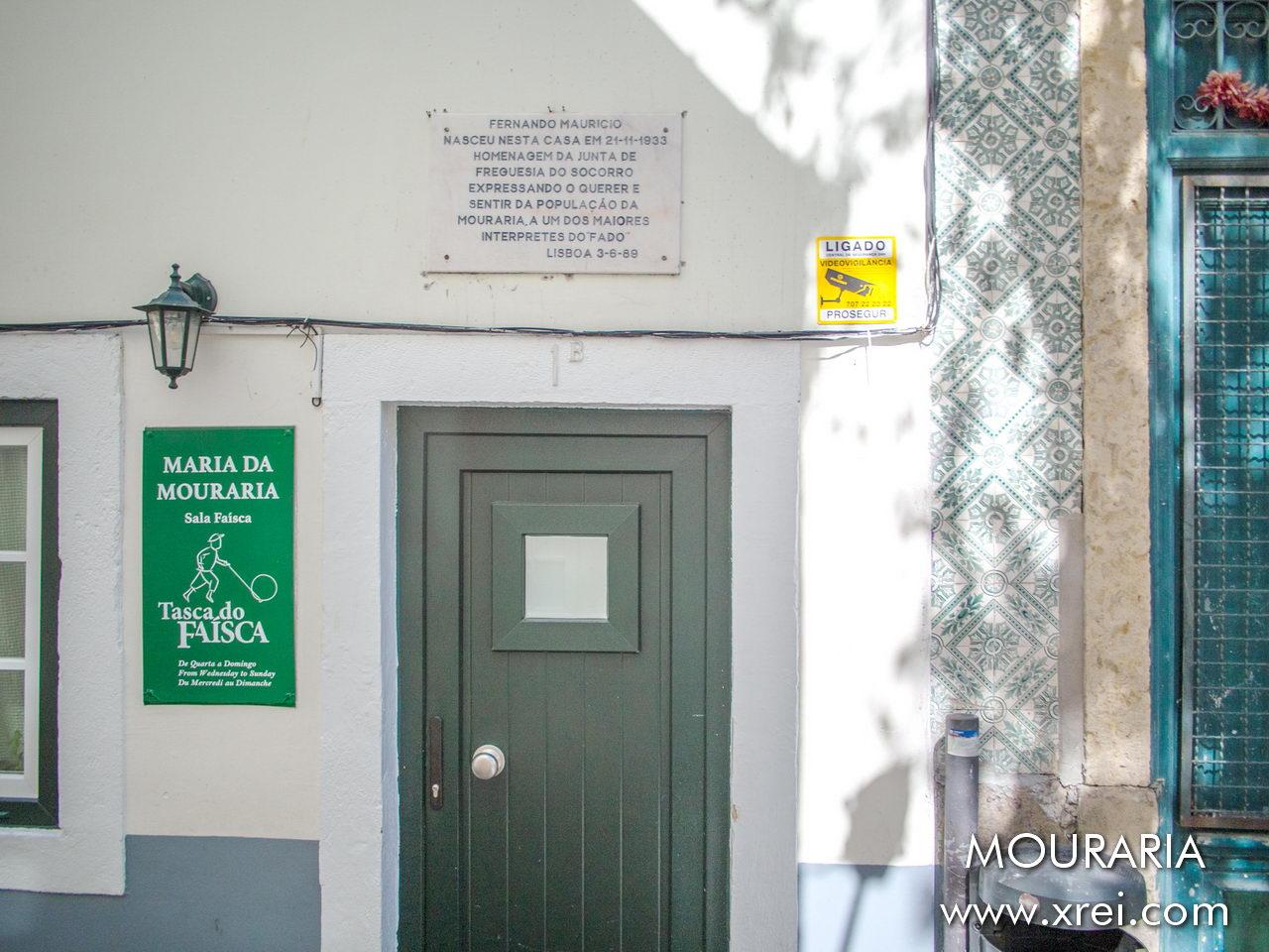 """Casa Fernando Maurício is an extension of the Fado Museum, dedicated to the fado singer Fernando Maurício (1933-2003), considered """"the King of Fado da Mouraria"""""""
