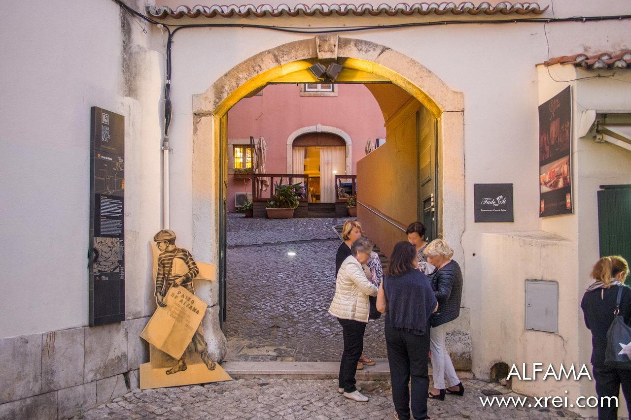 Traditional Fado house in Alfama