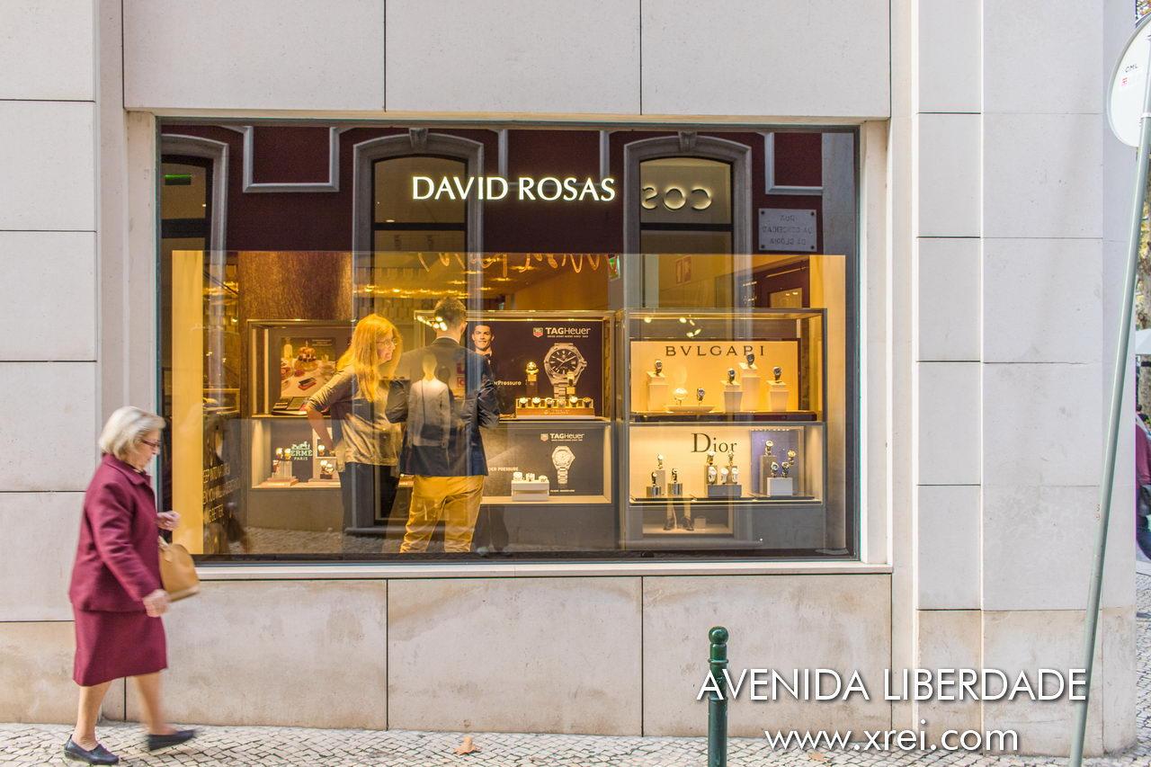 David Rosas Avenida da Liberdade, Portugal
