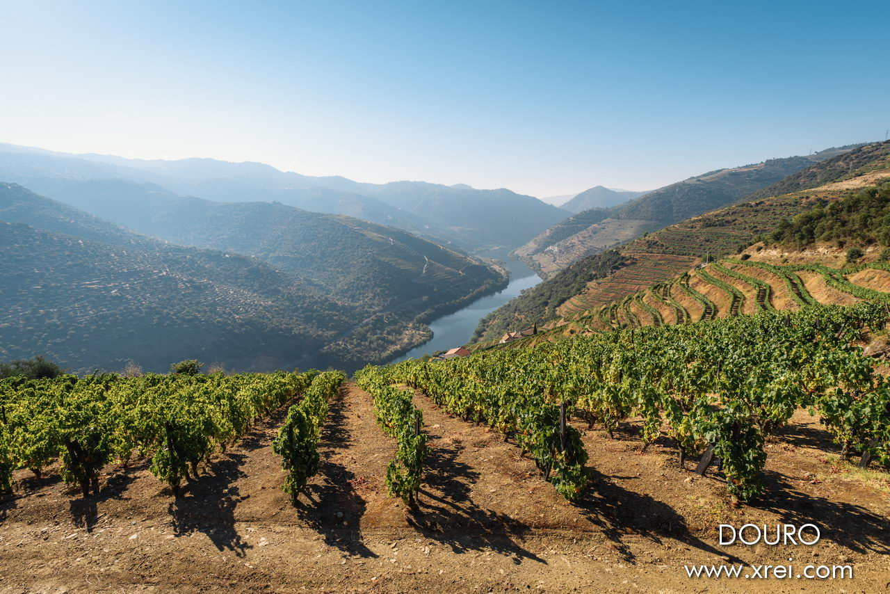 The Douro is a navigable river that runs through the valleys cultivated in the districts of Bragança, Vila Real and Porto over 210 kilometers, in the northern region of Portugal
