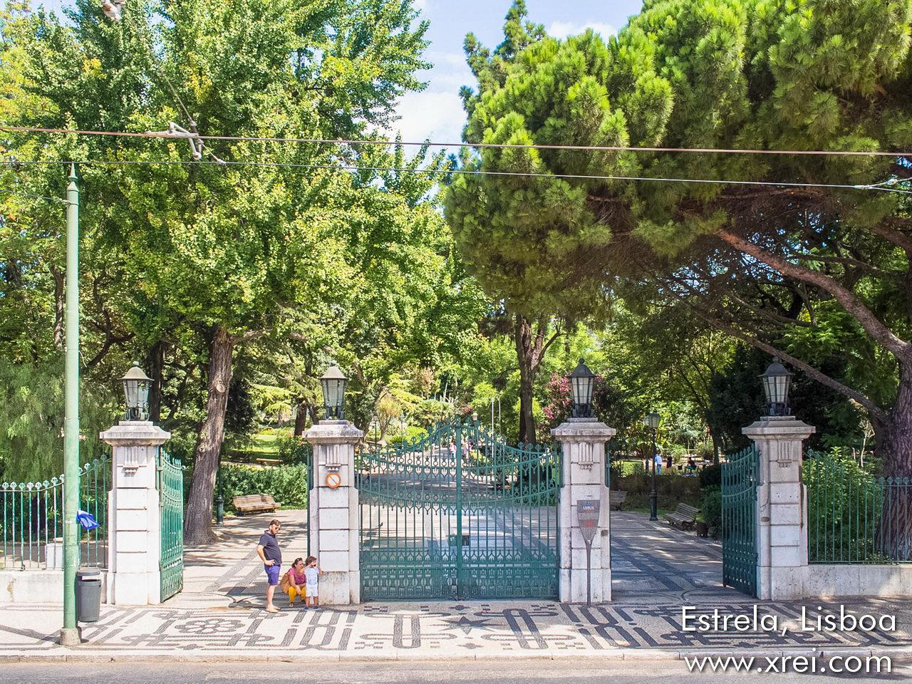 Entrance to Jardim da Estrela