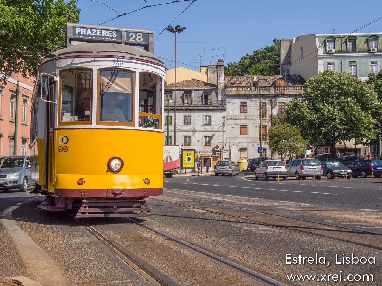 Bairro da Estrela, a traditional residential neighborhood in Lisbon centrally located in the traditional center of Lisbon, on a hill near the river, between the neighborhoods of Lapa, São Bento, Rato and Amoreiras