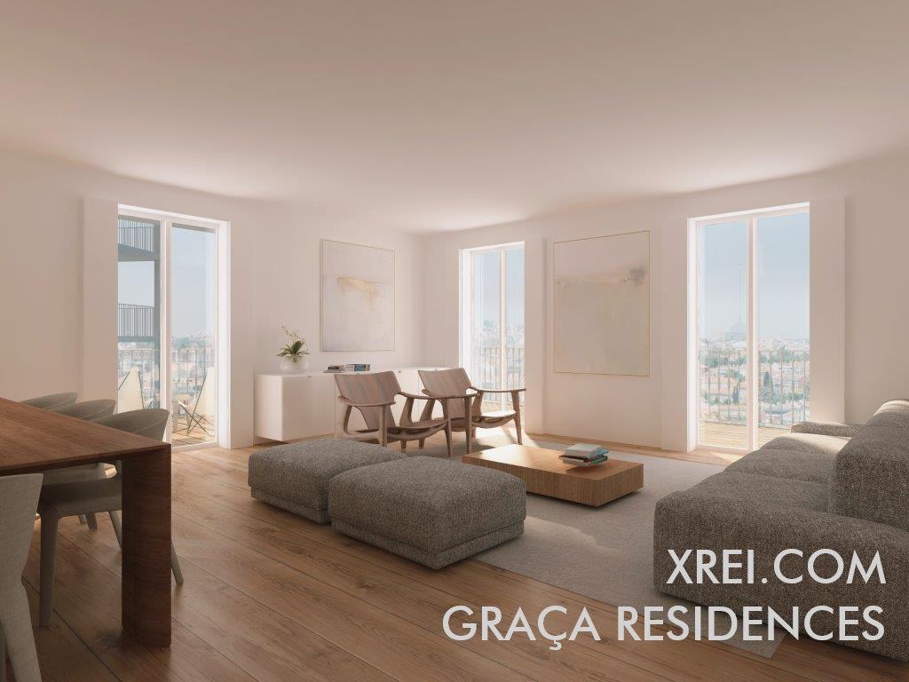 Graça Residences, nuevos apartamentos en venta en edificio residencial ubicado en Graça • Lisboa, Portugal