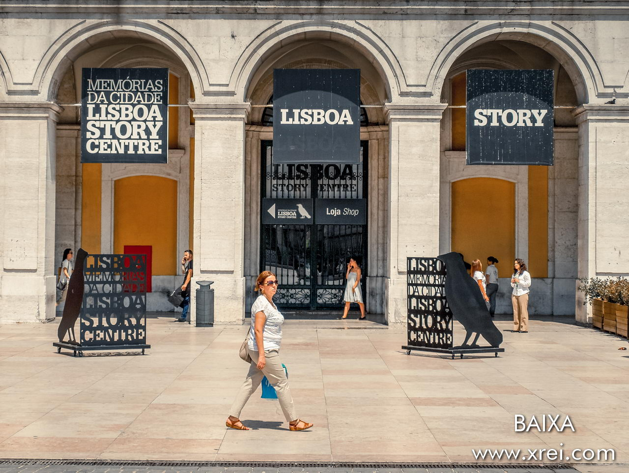 Lisboa Story Center is a center for the dissemination of the history of Lisbon through presentations with virtual reality where we can get to know in detail the history of the city of Lisbon in just 60 minutes