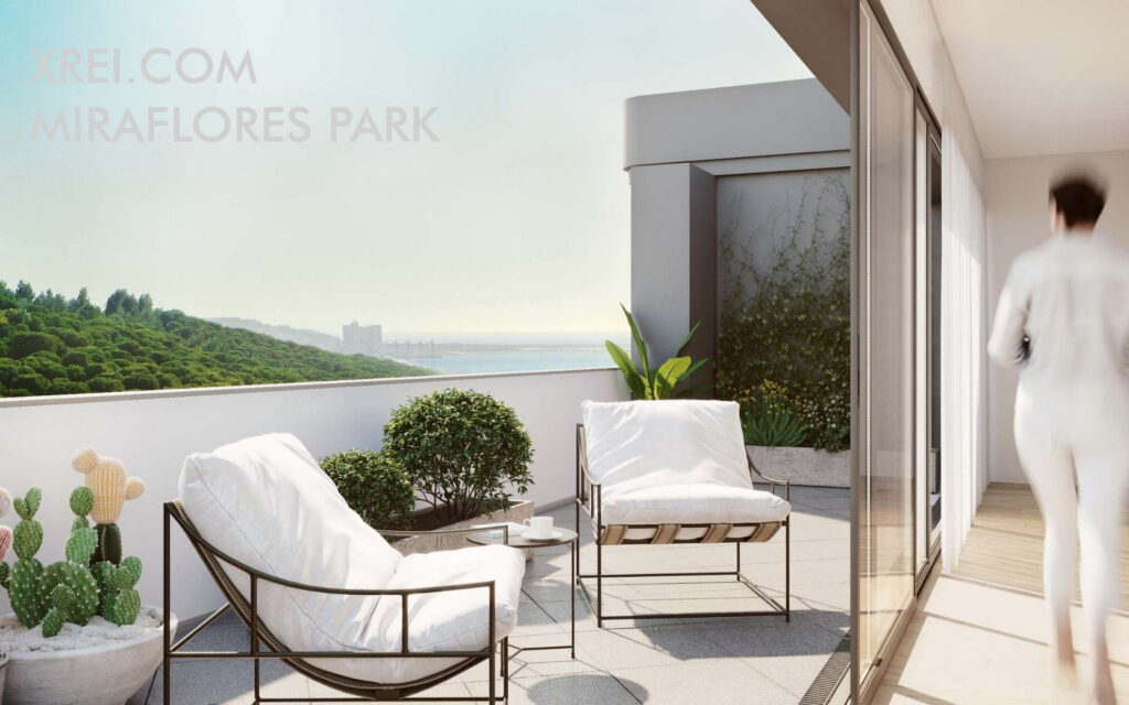 Miraflores Park, new apartments for sale in a residential building located in Algés • Oeiras, Portugal
