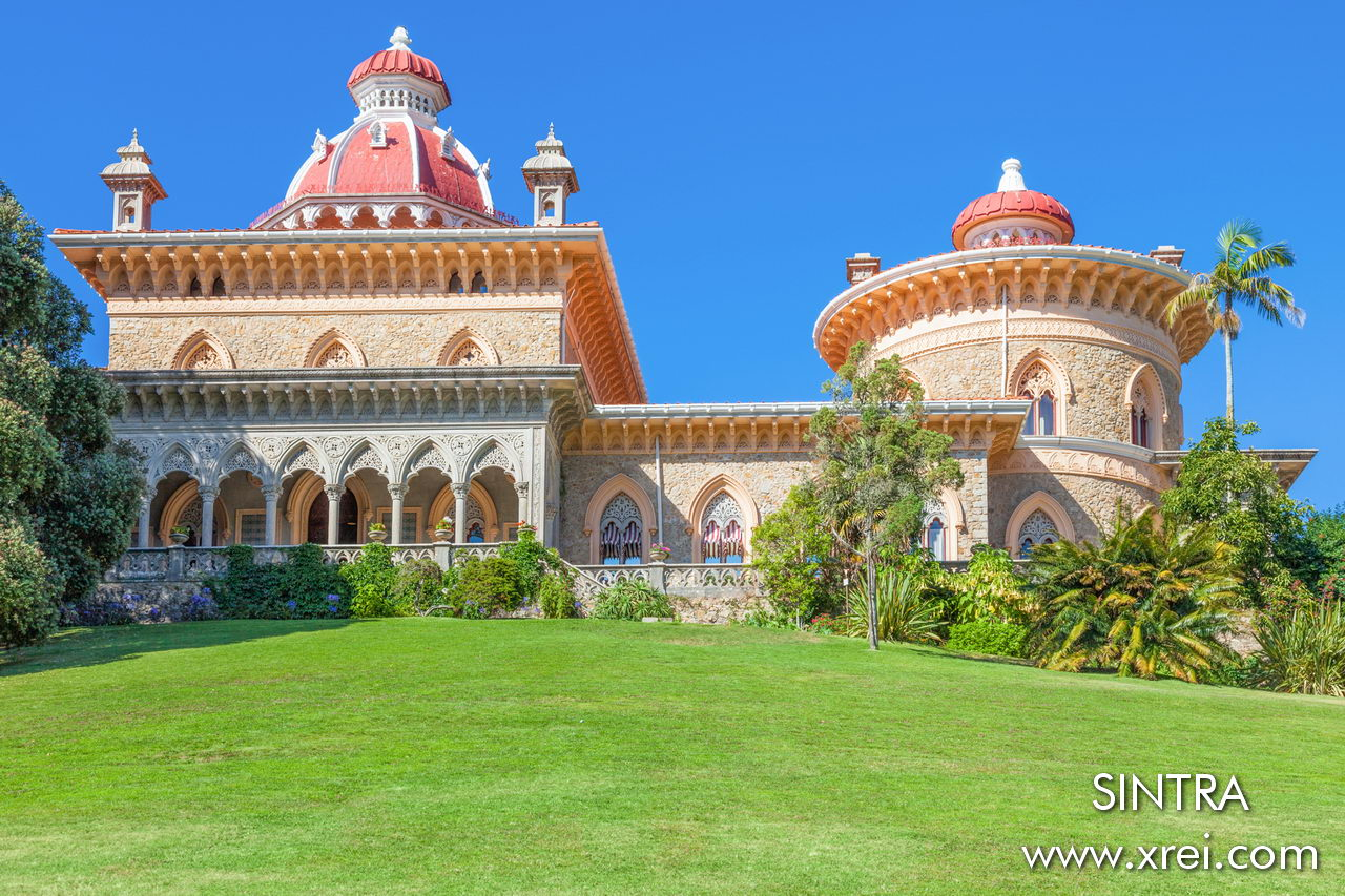 Monserrate Palace is a palace known for its architecture and landscaping, located four kilometers from the historic center of Sintra