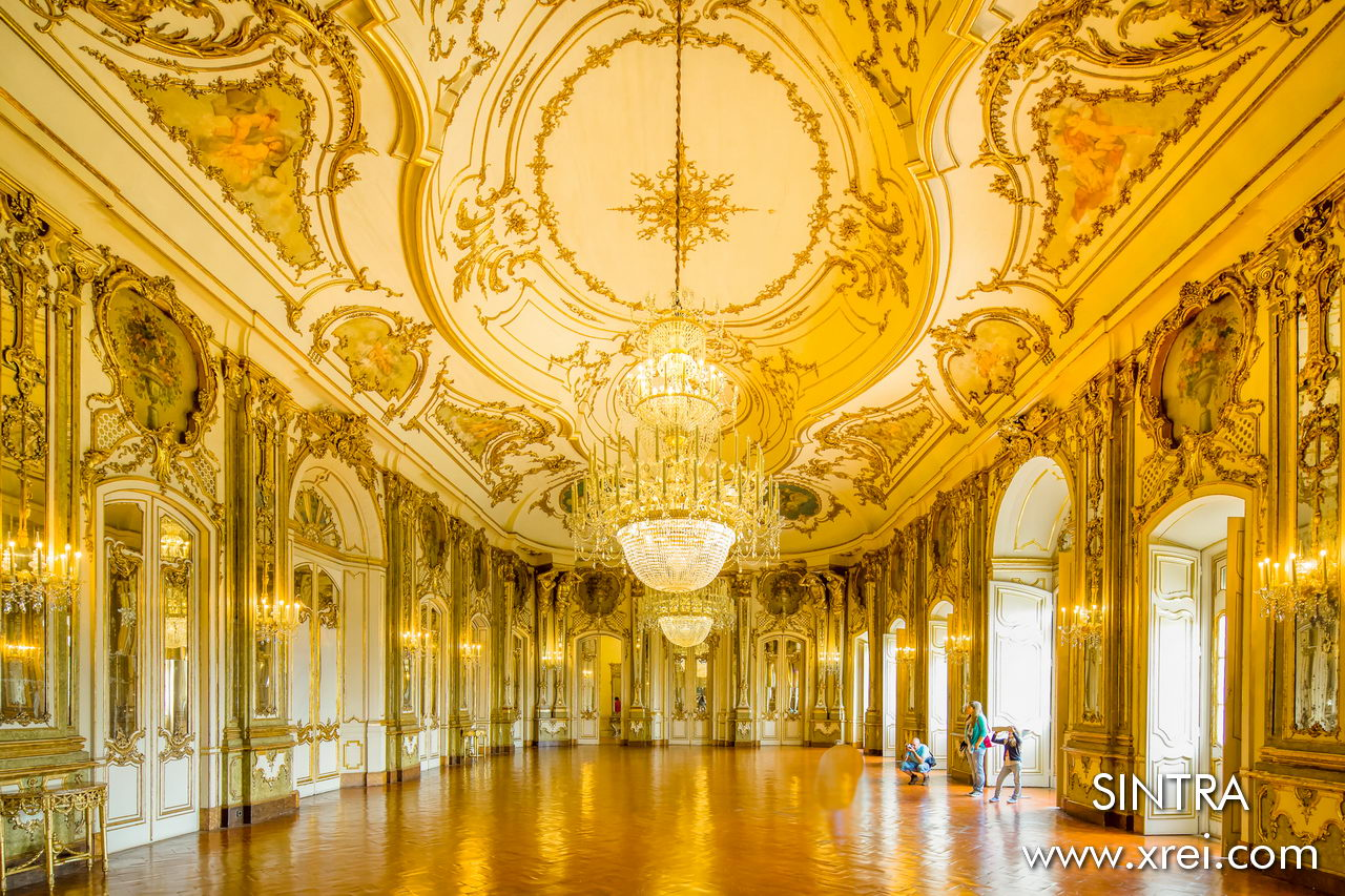 Hall of Mirrors of the National Palace of Queluz