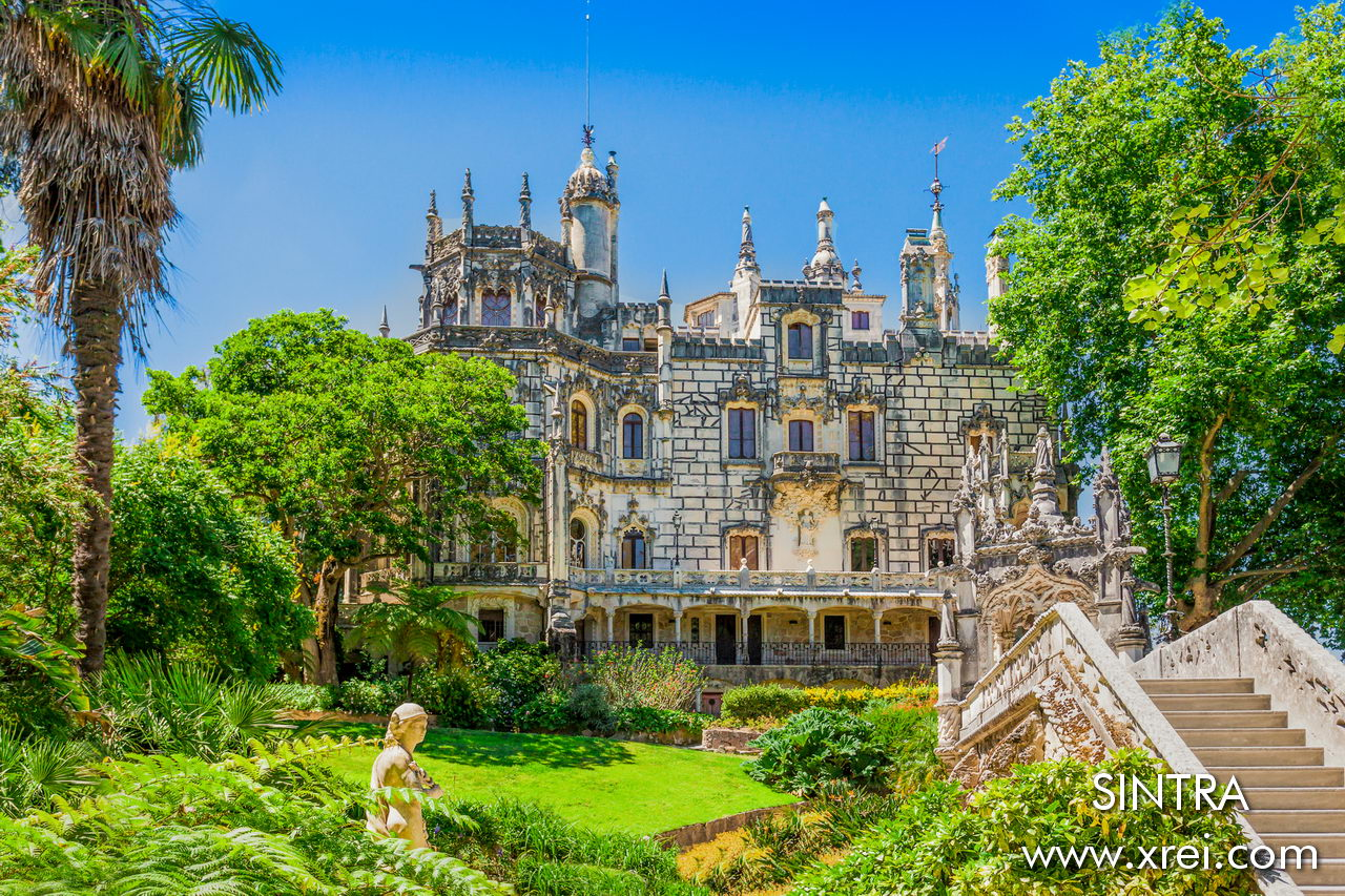 Palácio e Quinta da Regaleira is a project by Luigi Manini inspired by the Pena National Palace, the Hotel Palace do Buçaco and the Portuguese Epic of Discoveries.