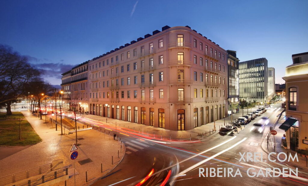 Ribeira Garden, new apartments for sale in a residential building located in São Paulo • Lisbon, Portugal