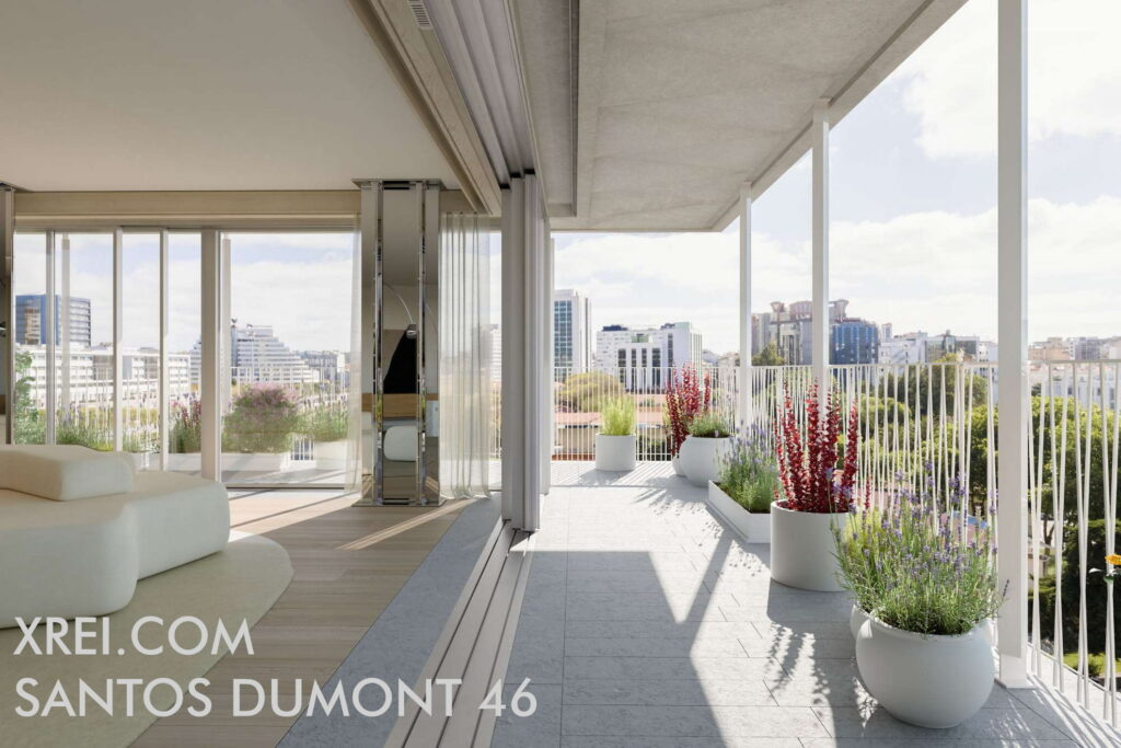 Santos Dumont 46, new apartments for sale in a residential building with swimming pool located in Praça de Espanha • Lisbon, Portugal