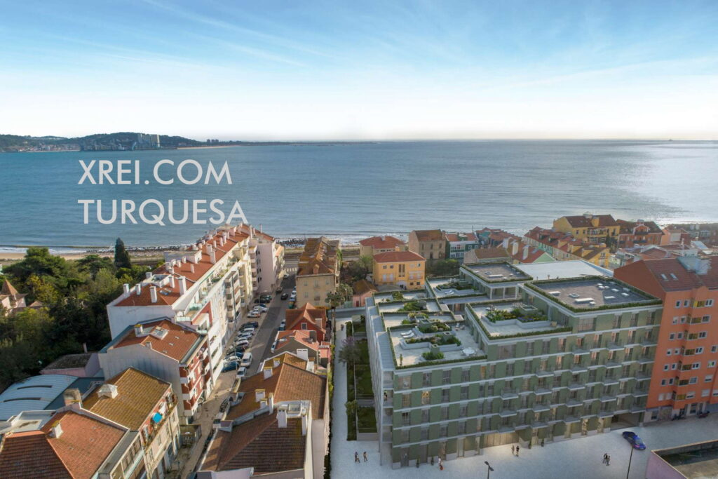 Turquoise, new apartments for sale in a residential building located in Dafundo Centro • Oeiras, Portugal